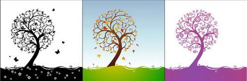抽象树装饰画 :装饰画素材网 datuku.net 最新潮的无