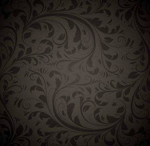 古典花纹墙纸