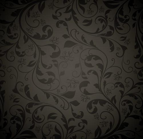 古典花纹墙纸 :装饰画素材网