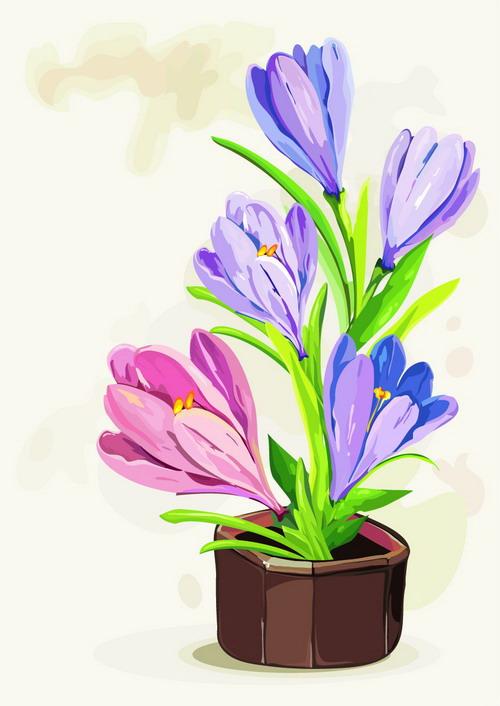 jpg 手绘盆花鲜花 (2)_调整大小.jpg 手绘盆花鲜花 (1)_调整大小.