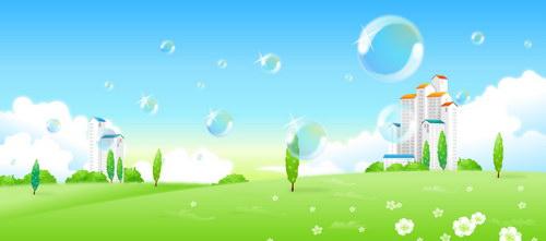 花园般的小区 :装饰画素材网 datuku.net 最新潮的无