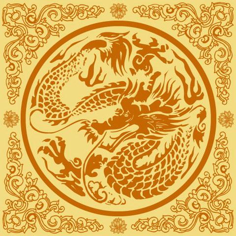 古典中国龙纹 :装饰画素材网 datuku.net 最新潮的无