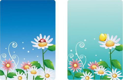 春天里插图 :装饰画素材网