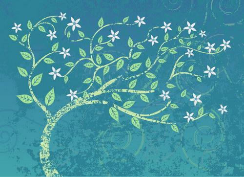 美丽的树装饰画 :装饰画素材网 datuku.net 最新潮的